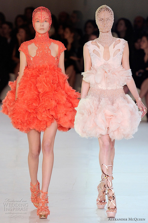 alexander mcqueen spring 2012 ready to wear