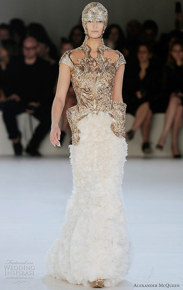 alexander mcqueen wedding dress 2012