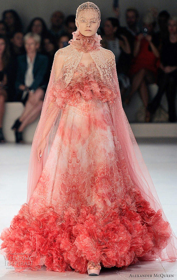 Girls get hot alexander mcqueen spring 2012 ready to wear for Ready to wear wedding dresses online
