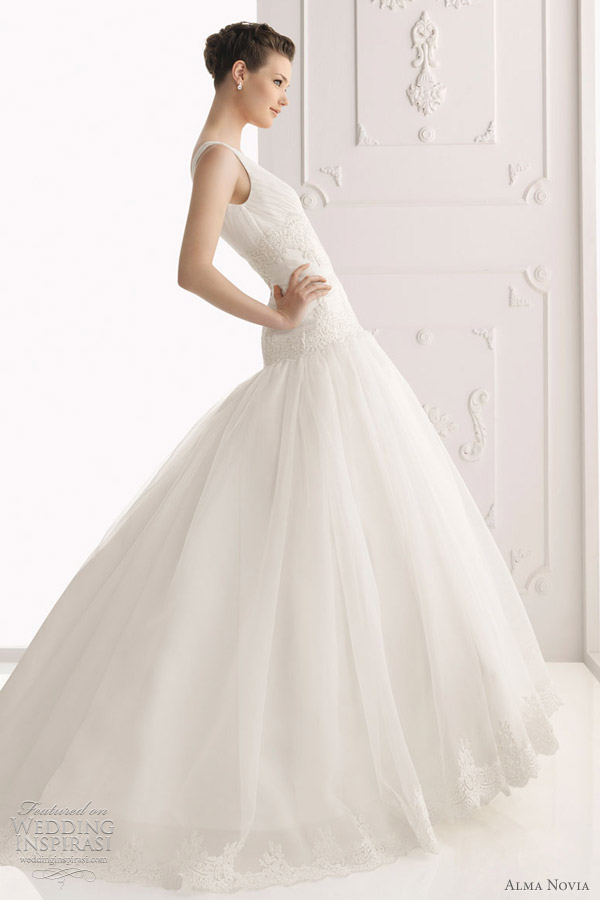 alma novia 2012 - sabin wedding dress