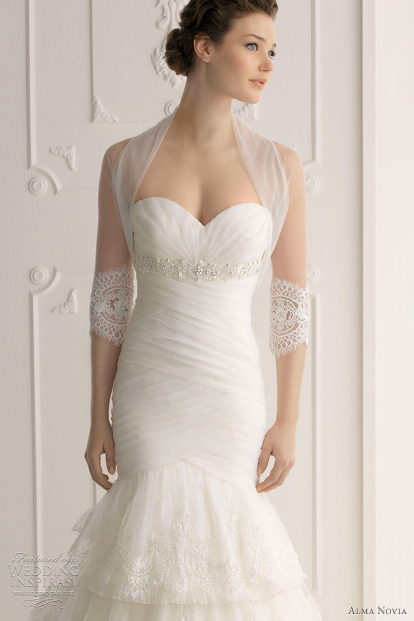 alma novia bridal 2012 - siracusa wedding dress