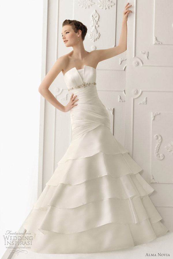 alma novia 2012 wedding dresses wedding inspirasi