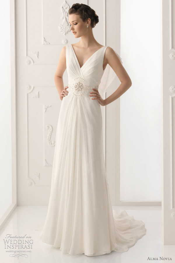 alma novia wedding dresses 2012 collection - Salma bridal gown