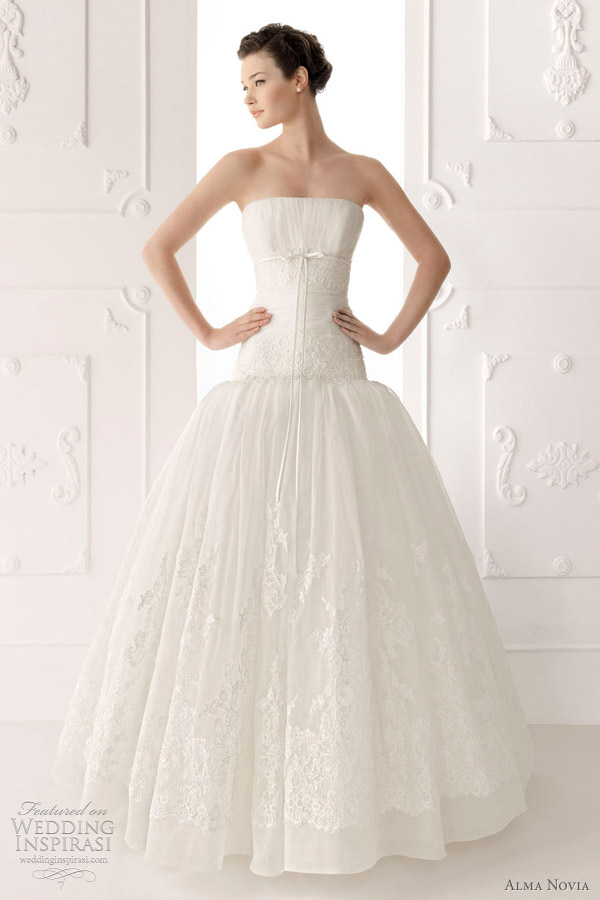 alma novia wedding gowns 2012 - Sheila