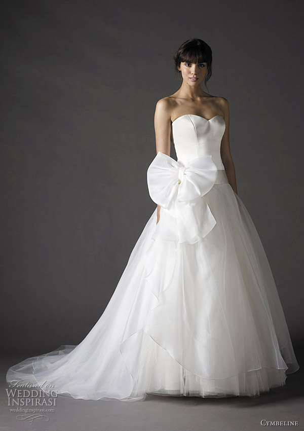 cymbeline 2012 ball gown wedding dress - Futur