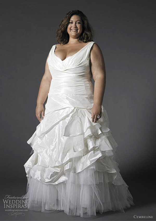 cymbeline 2012 plus size wedding dresses - Feerie