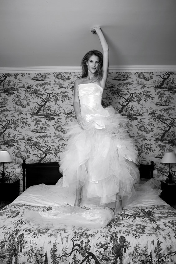 cymbeline wedding gown 2012 bridal collection - Fauvette