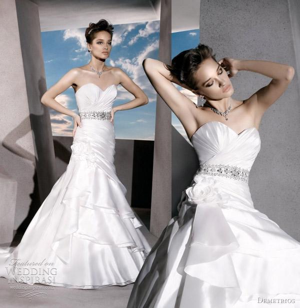 demetrios 2012 wedding dresses - STYLE NO. GR213