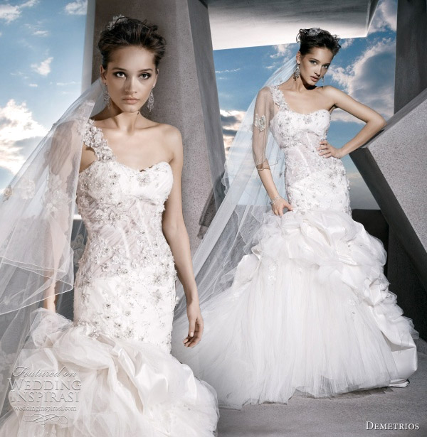 Demetrios Wedding Dresses : Girls get hot demetrios wedding dresses