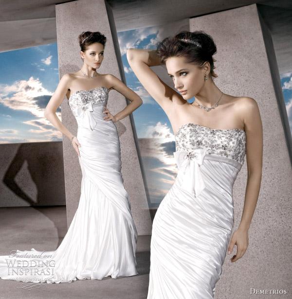 demetrios bridal 2012 wedding dress - STYLE NO. GR210