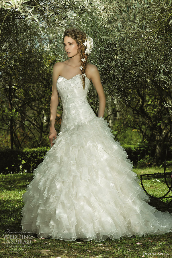 Divina Sposa Wedding Dresses 2012 Wedding Inspirasi