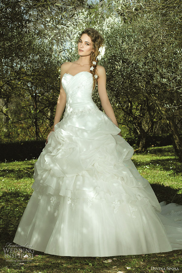 divina sposa ball gown wedding dress