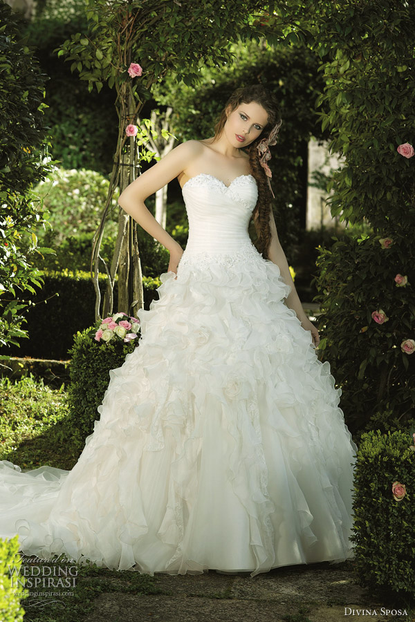 divina sposa wedding dress 2012