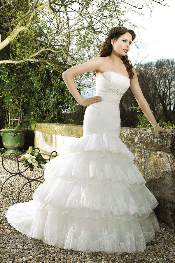 divina sposa wedding gowns 2012