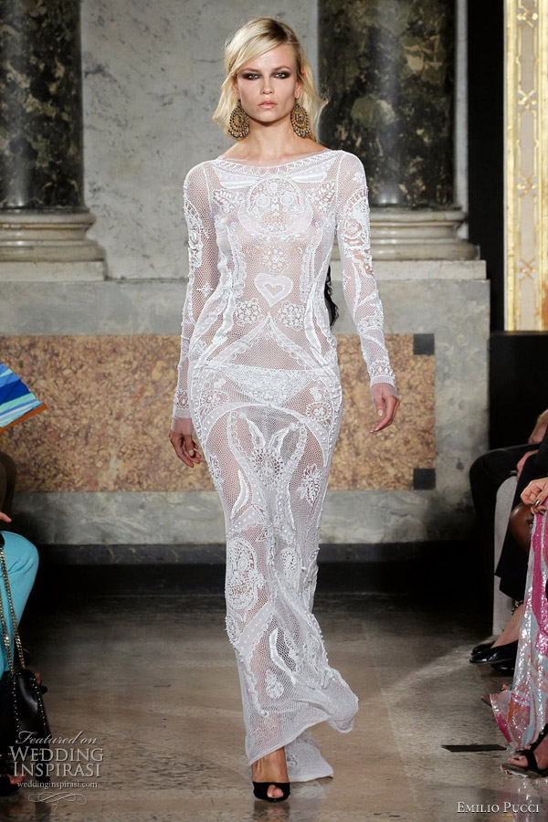 Emilio pucci spring 2012 ready to wear wedding inspirasi for Ready to wear wedding dresses online