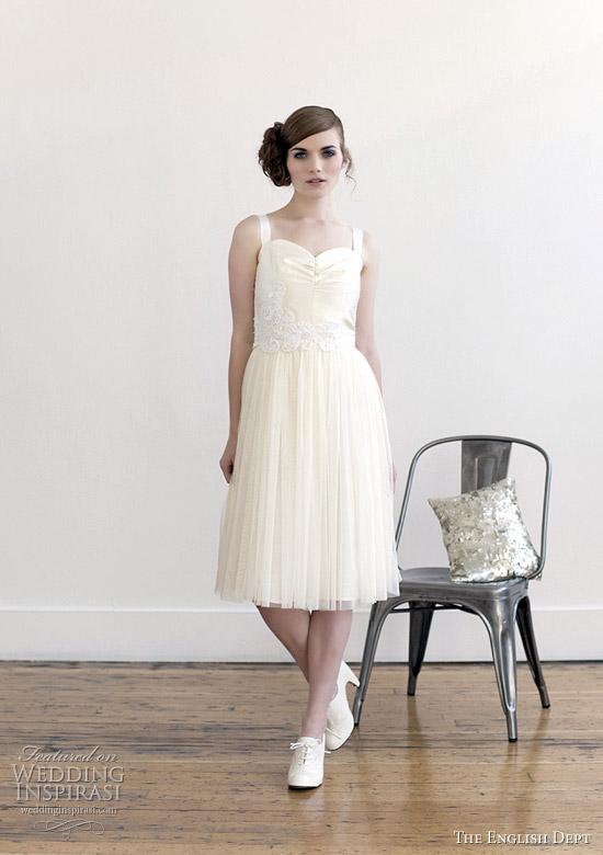 english dept 2012 collection - Alabaster wedding dress