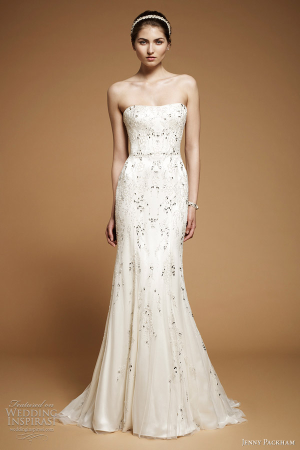 jenny packham 2012 arabesque wedding dress