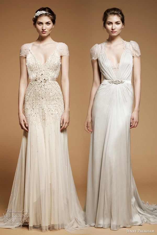 jenny packham bridal 2012 aspen willow wedding dresses
