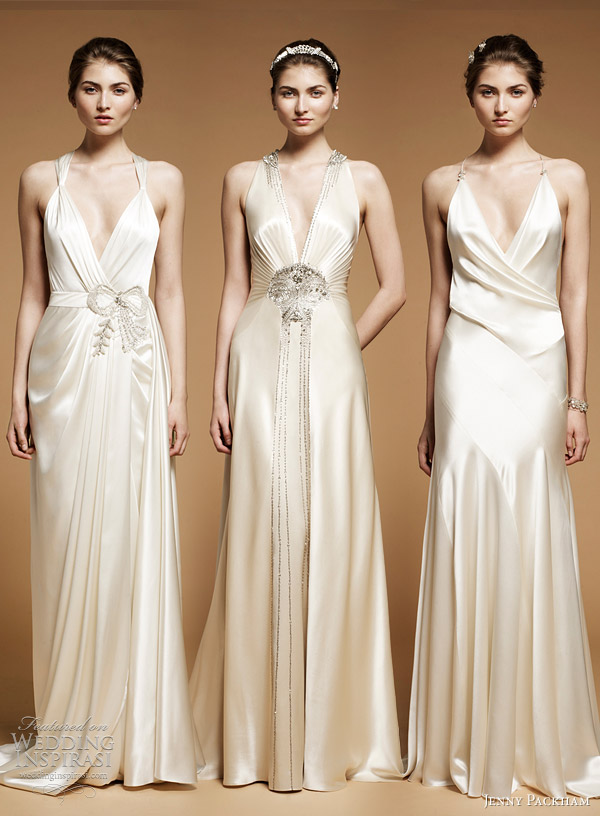 jenny packham 2012 wedding dresses Ada Imari and Drew sleek art deco