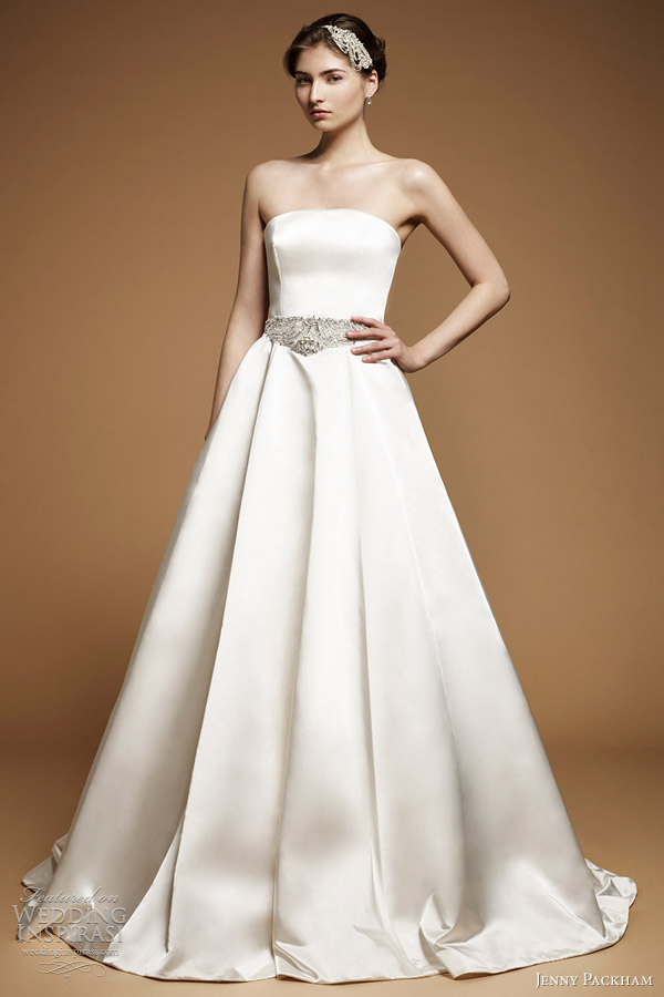 jenny packham bridal 2012 posy ball gown