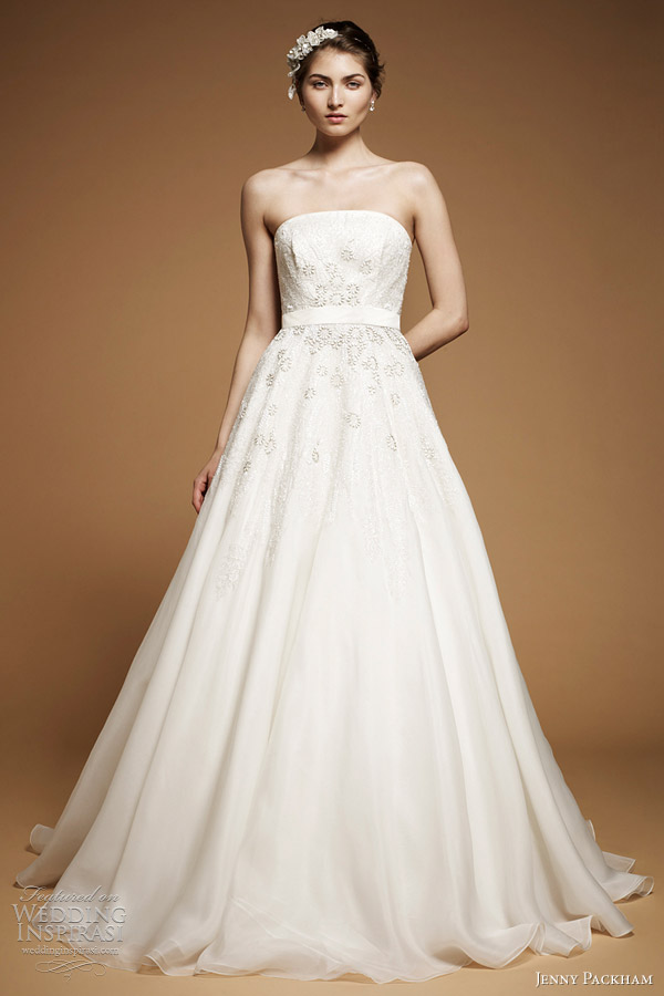 jenny packham midsummer wedding dress 2012