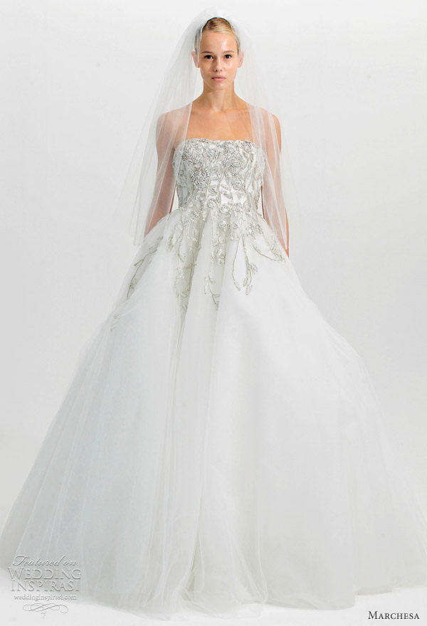 38cc0626 Marchesa Fall 2012 Wedding Dresses | Wedding Inspirasi