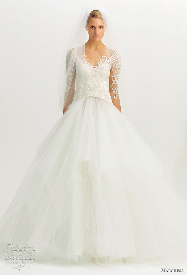 Marchesa fall 2012 wedding dresses wedding inspirasi for Marchesa wedding dresses prices