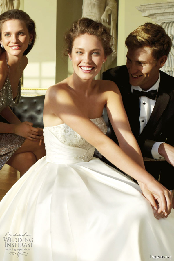 pronovias bamba 2012 wedding dresses