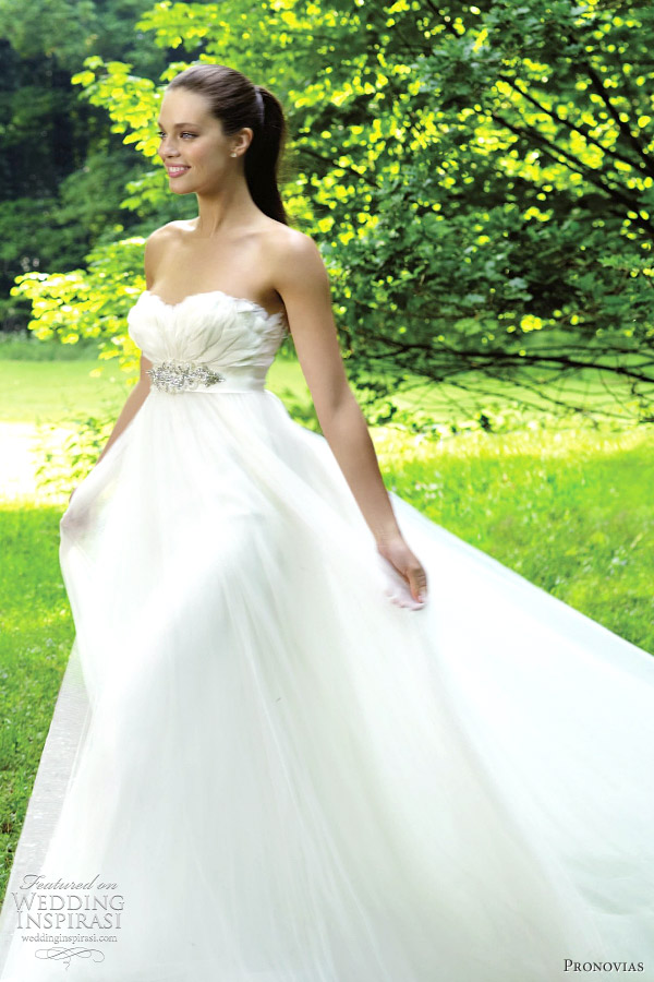 pronovias barcares wedding dress 2012
