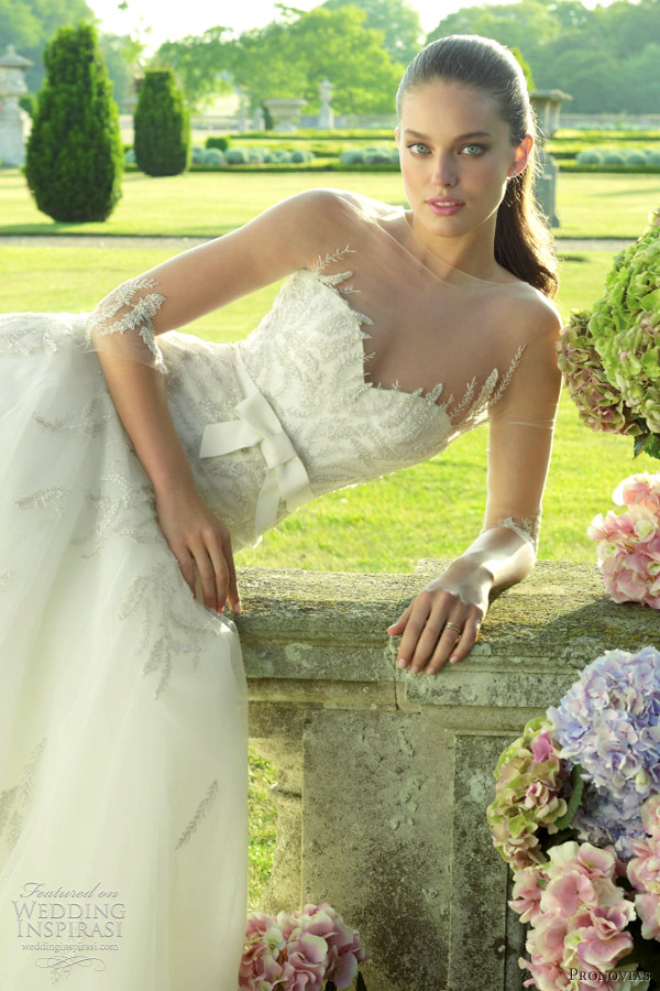 pronovias wedding dress 2012 elena
