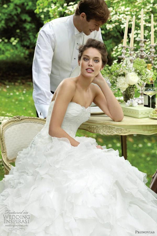 pronovias wedding dresses 2012 blanca