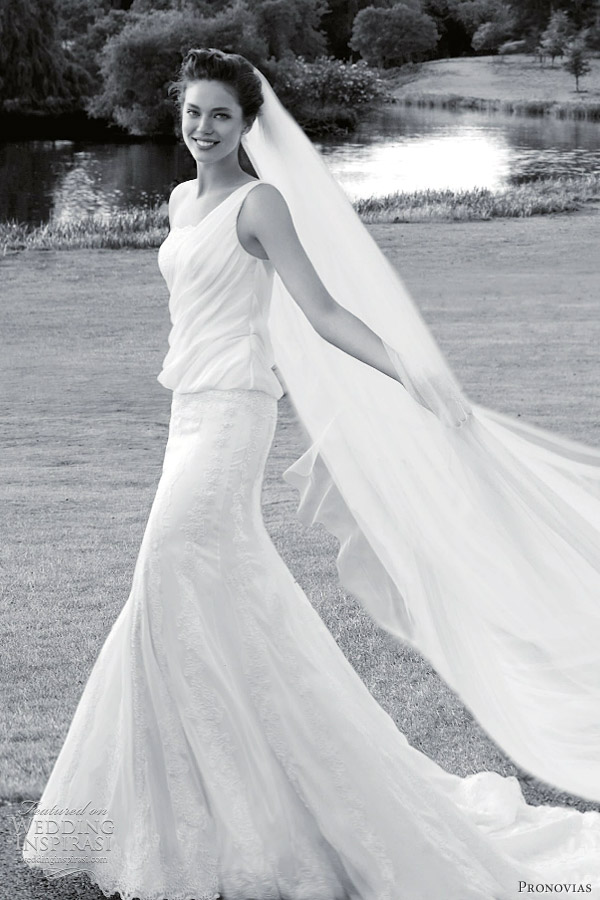 pronovias wedding gowns 2012