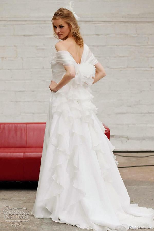 rosi strella 2012 bridal collection - crillon wedding dress
