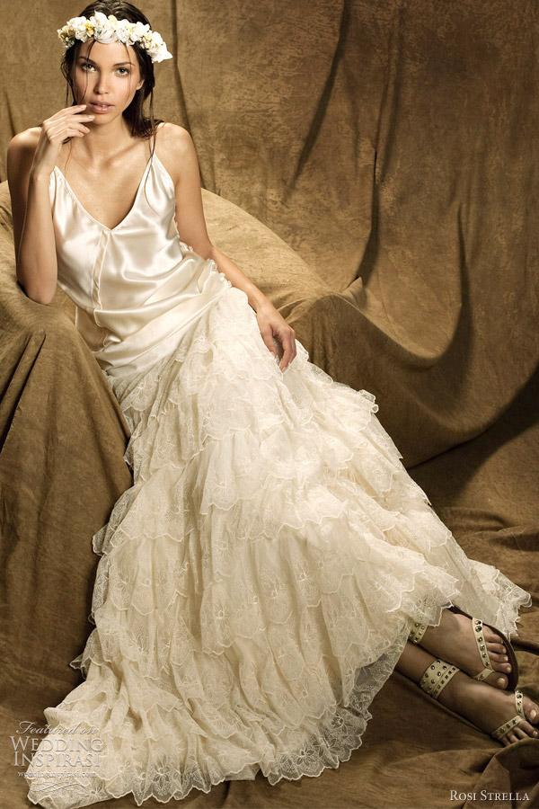 rosi strella 2012 robe de mariee - Sur la plage wedding dress