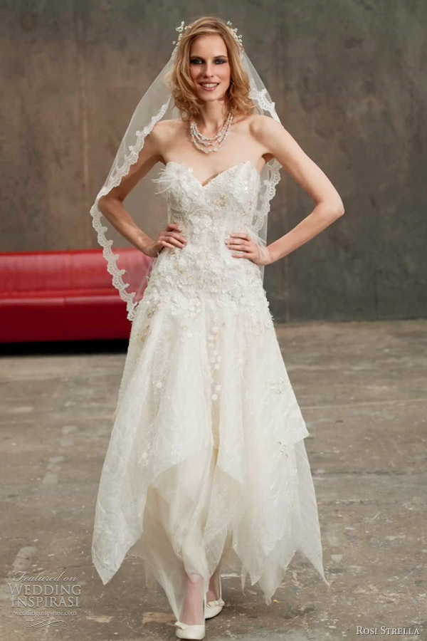 rosi strella wedding dress 2012 - croisette
