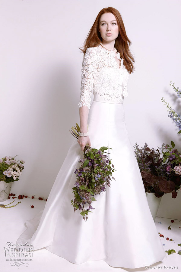 stewart parvin 2012 wedding dresses