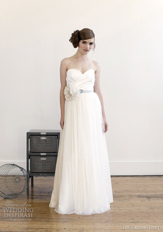 the english dept elizabeth dye wedding dresses 2012 collection - Tempest gown
