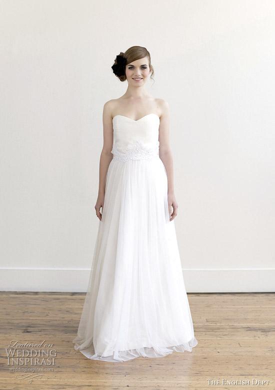 Alabaster Wedding Dress 19 Awesome the english dept wedding
