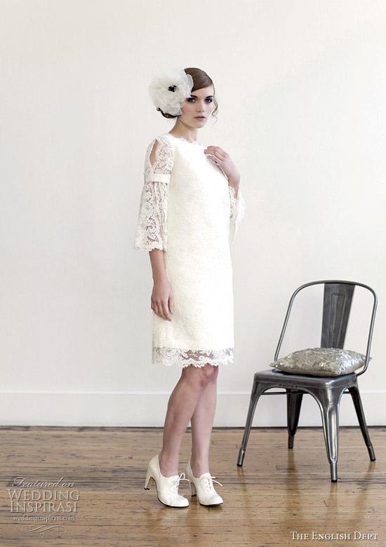 the english dept wedding dresses 2012 - Miss Bianca retro wedding dress