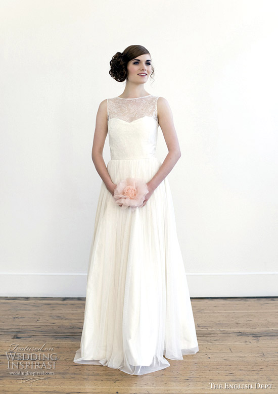 the english dept wedding dress 2012 - For Emily gown