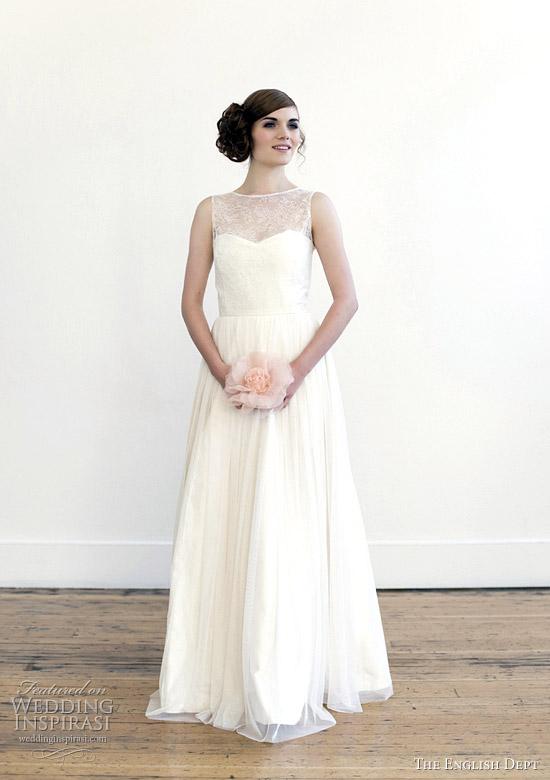 1960s Style Wedding Dresses 2 Perfect the english dept wedding