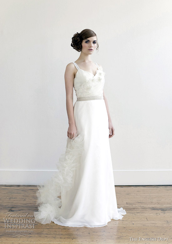 the english dept 2012 bridal collection - Snowbell wedding dress