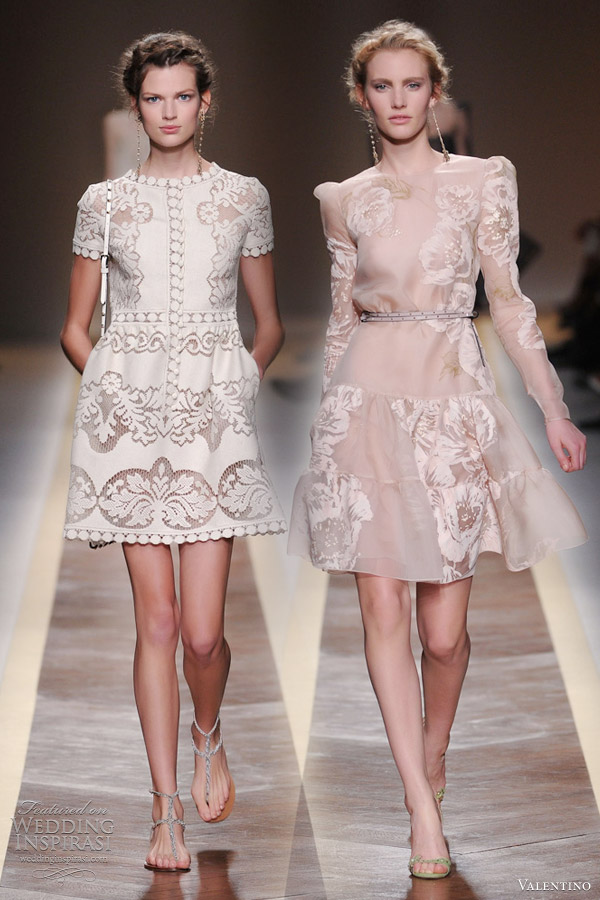 valentino spring 2012 ready to wear wedding inspirasi