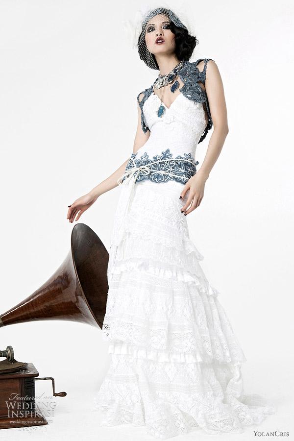 Yolancris Wedding Dresses 2012 Lumi 232 Re Bridal Collection
