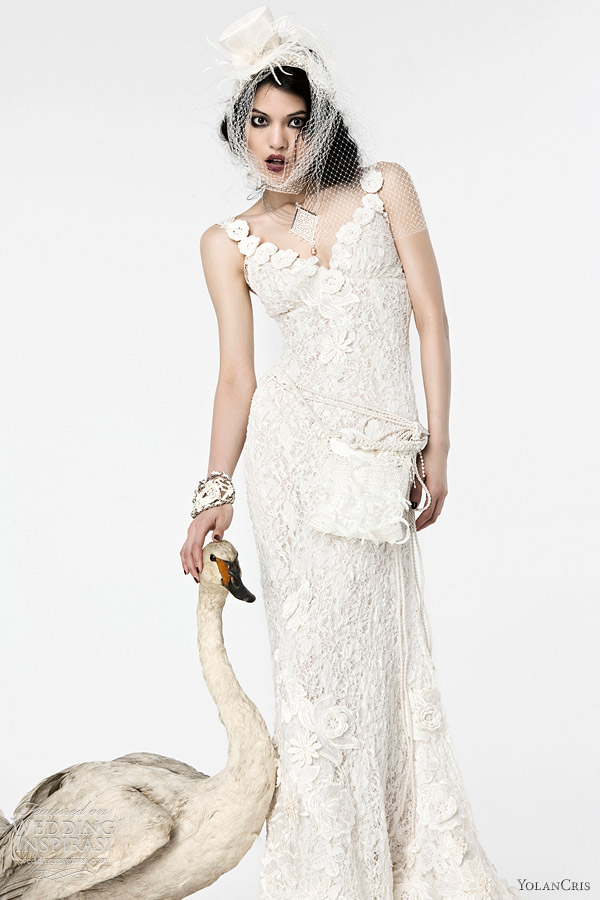 yolan cris - 2012 Denver wedding dress