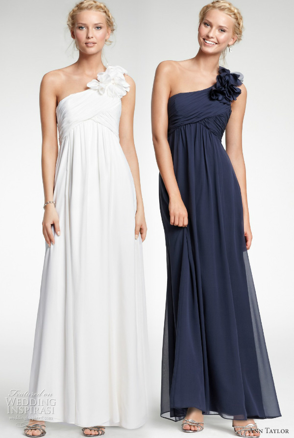 affordable wedding dresses ann taylor