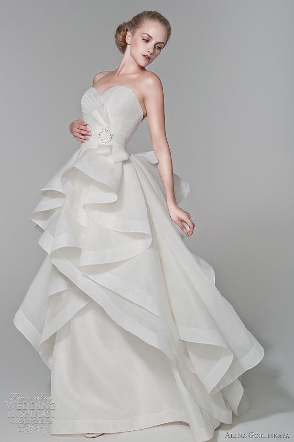 alena goretskaya 2012 wedding dresses