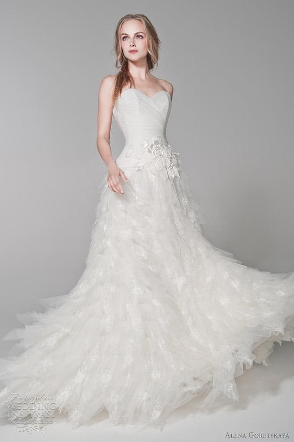 alena goretskaya wedding gowns 2012