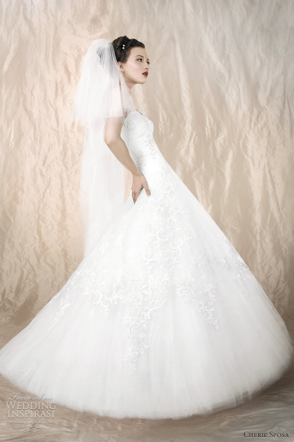 aline wedding dress cherie sposa 2012