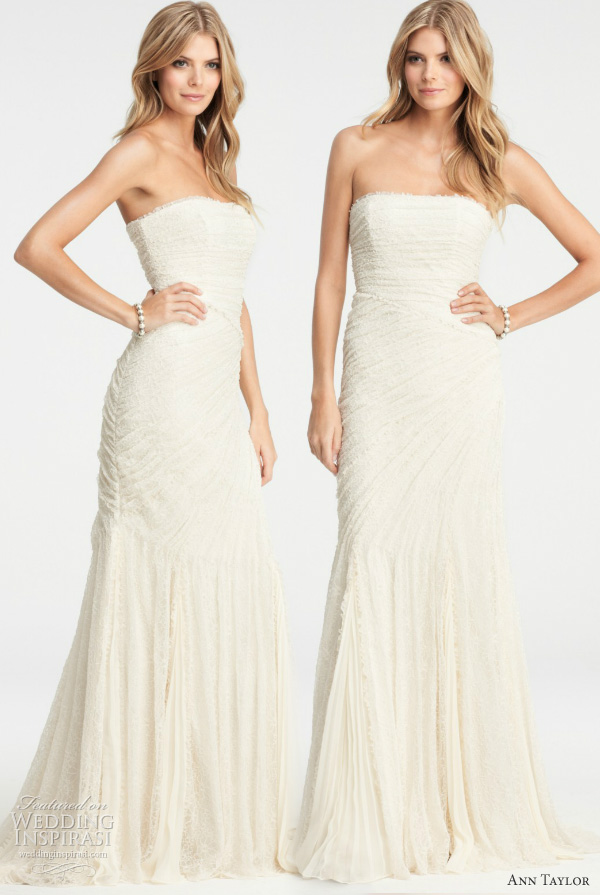 ann taylor 2012 wedding dresses